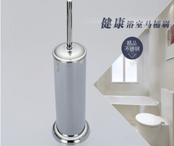 Factory direct sale durable type 304 stainless steel chrome finished toilet brush holder set bathroom accessories.jpg 250x250