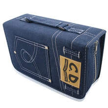 ymjywl CD Case New DVD/CD Bag Large Capacity 128 Disc Collection Bag High Quality Case For Car And Home Storage Box