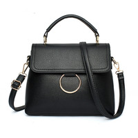 2017 New Fashion Women Messenger Bags PU Leather Lady S Shoulder Bag Crossbody Bags Casual Famous