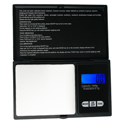 1000g * 0.1g LCD Jewelry Gold Diamond Weighting Electronic Digital Pocket Scale 1kg  Gram Weight g/ oz/ gn/ ct/ dwt/ ozt