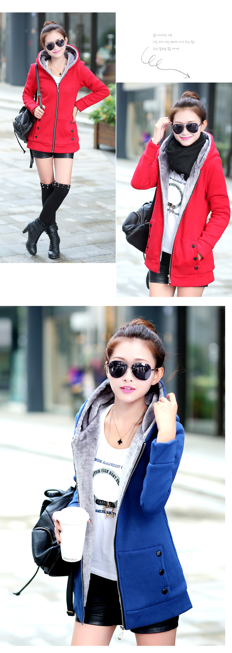 HTB1VukkajnuK1RkSmFPq6AuzFXag Women Fashion Autumn Winter Thicken Sports Cotton Coat ladies Solid Hooded Warm Jacket Outerwear female padded parka overcoat