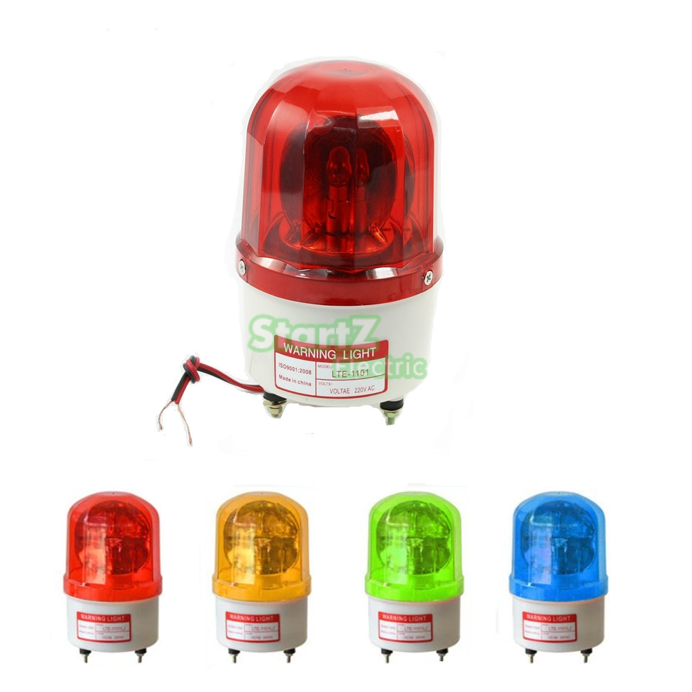 Rotator Warning Light Strobe light for factory workshop , Emergency Light signal lamp rotatingswitch LTE-1101 Switch