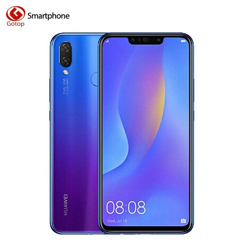Huawei nova 3i nova 3i téléphone portable 4G RAM 128G ROM 6.3 pouces Kirin710 Octa Core téléphone portable Android 8.1 téléphone corps Smartphone