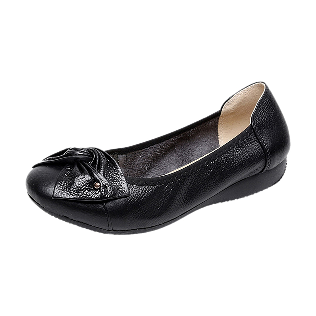 Handmade genuine leather ballet women female casual shoes women flats shoes slip on car-styling driving loafer pl us size 38 47 handmade genuine leather mens shoes casual men loafers fashion breathable driving shoes slip on moccasins