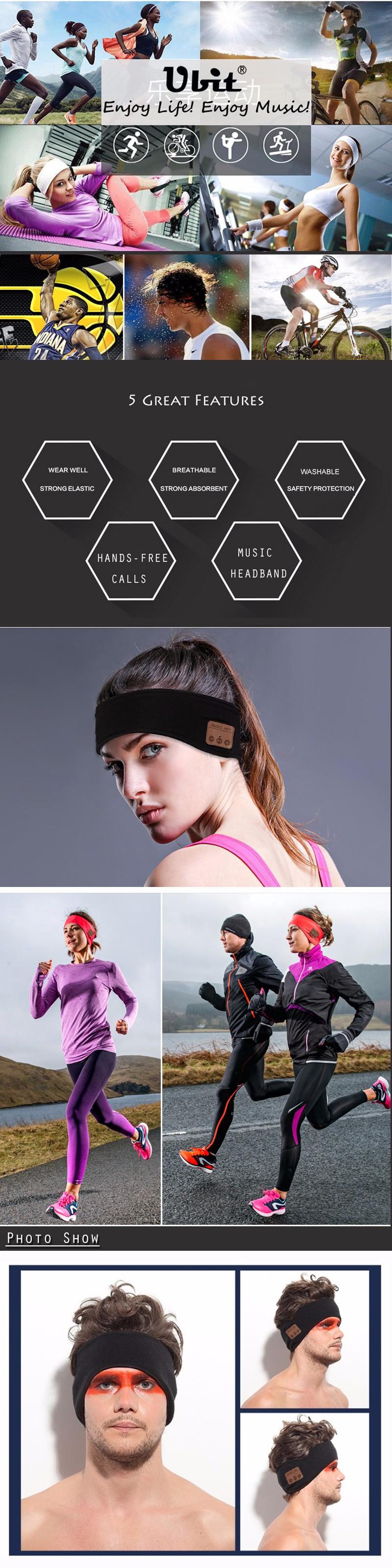 Bandeau Sport  Sans Fil Bluetooth