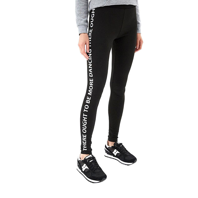 Leggings MODIS M182W00232 pants capris trousers for sport casual for female for woman TmallFS