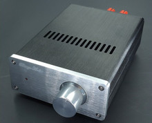 Power Amplifier Chassis / Aluminum Case mini power Amp Shell /DIY amp enclosure(China)