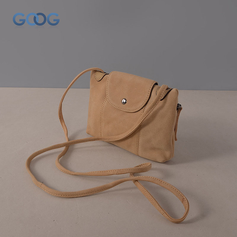 New retro leather multi-color women's small square package cross-style square fashion solid color zipper Messenger bag shoulder
