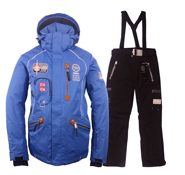2015 New brand best quality mens snow ski jackets ski pants ...
