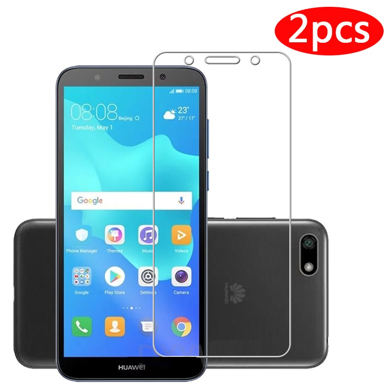2pcs Tempered Glass <font><b>For</b></font> <font><b>Huawei</b></font> Y5 Prime 2018 Screen Protector <font><b>For</b></font> <font><b>Huawei</b></font> Y5 Prime 2018 5.45inch <font><b>DRA</b></font>-L22 <font><b>DRA</b></font>-<font><b>LX2</b></font> Protective film image