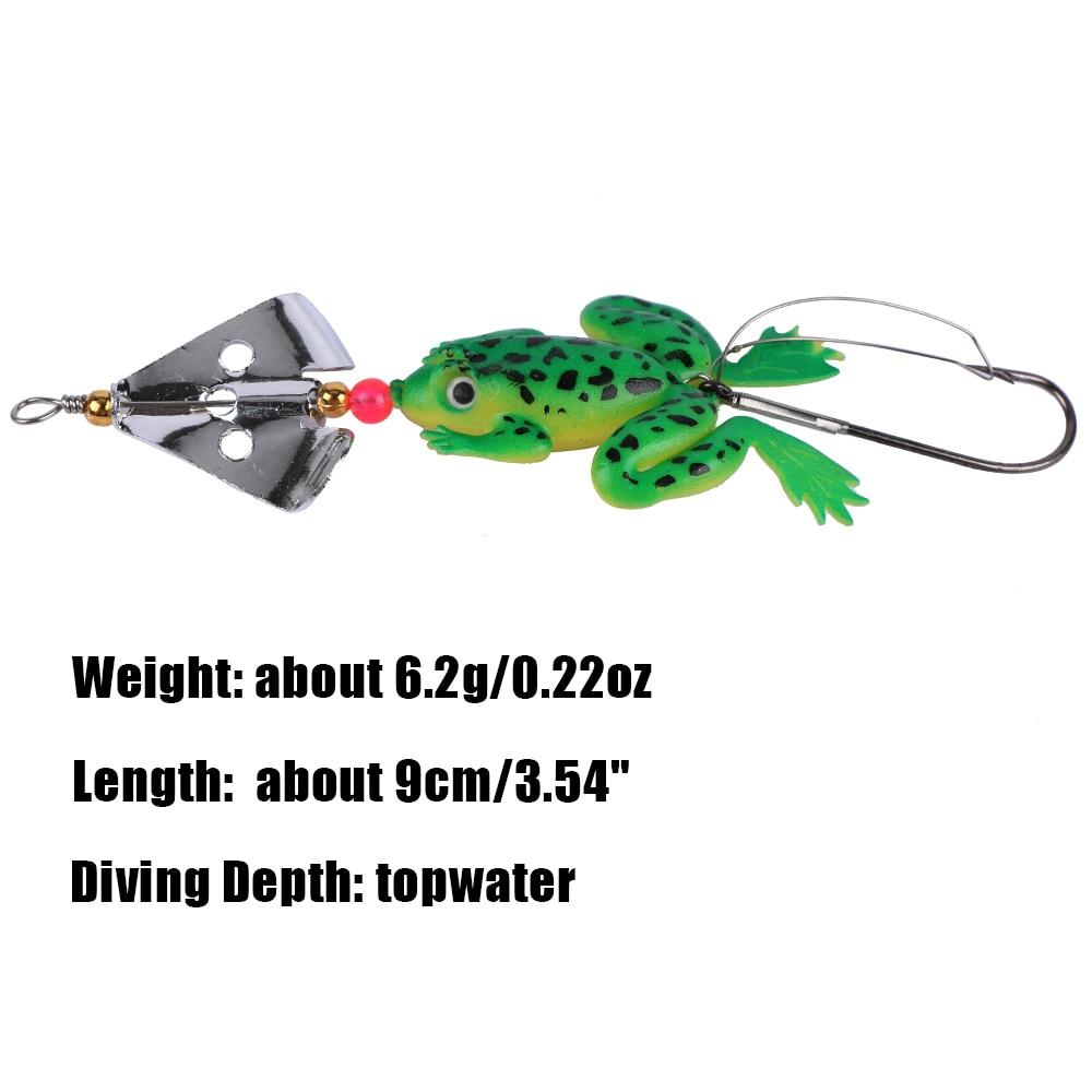 Гатунка 8 штук Мяккая рыбалка прынада - Рыбная лоўля - Фота 3