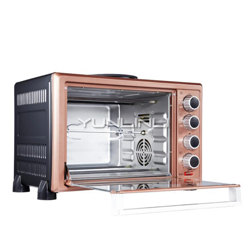 цена Household Electric Oven 30L Large Capacity Baking Oven Multifunctional Baking Machine HK-3002RCFD