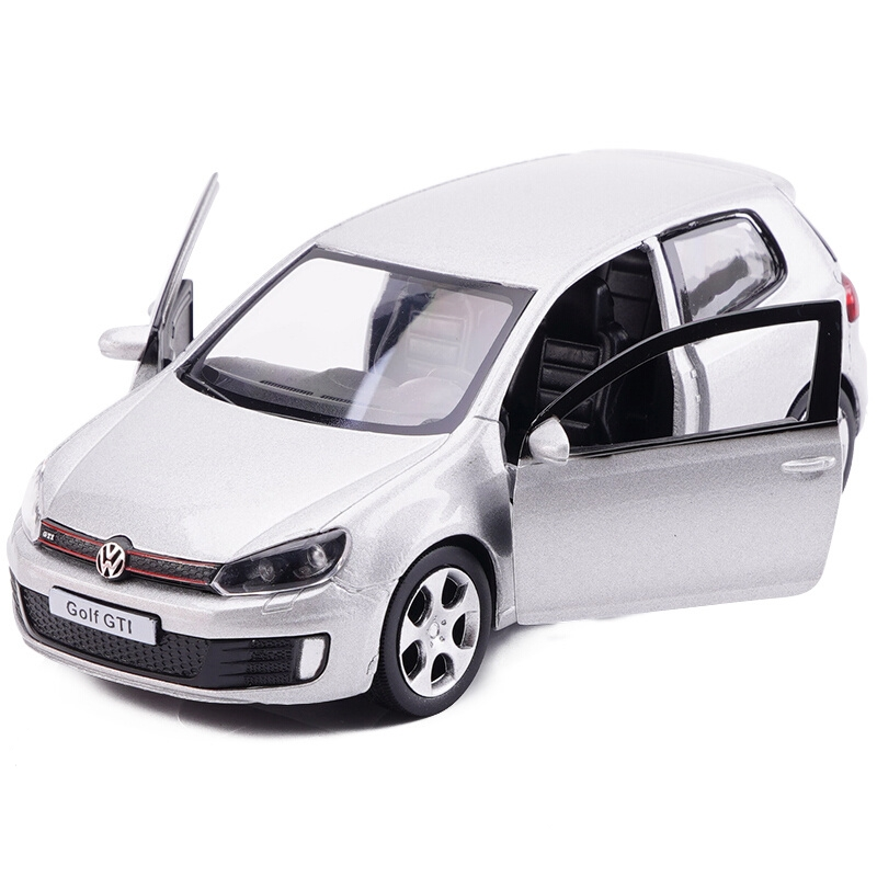 1:36 Scale Diecast Alloy Metal Vehicles Model Cars For VW Golf GTI 5