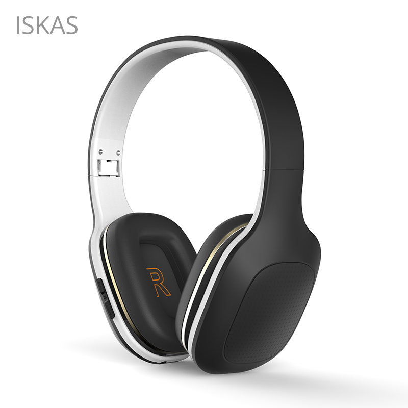 ISKAS Headphones Bluetooth Subwoofer Ear Phones Wireless Bluetooth Cell Phones Gaming Electronics Good PC Phone Technology New