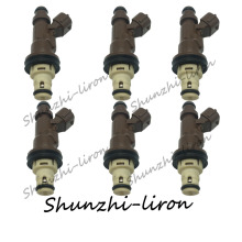6pcs Fuel Injector Nozzle For Toyota 4Runner Tacoma Tundra 3.4L V6 23250-62040 23209-62040 2325062040 2320962040 23250 62040 недорго, оригинальная цена
