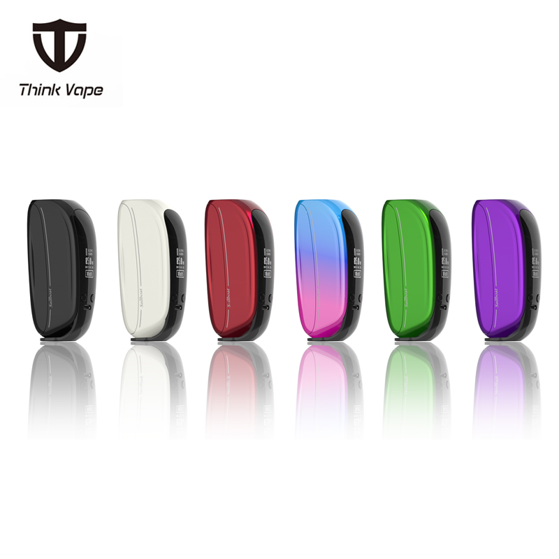Newest Thinkvape Sailboat Temperature Control 85W Box Mod Think Bypass mod 510 thread e cigarette mod for 18650 vape