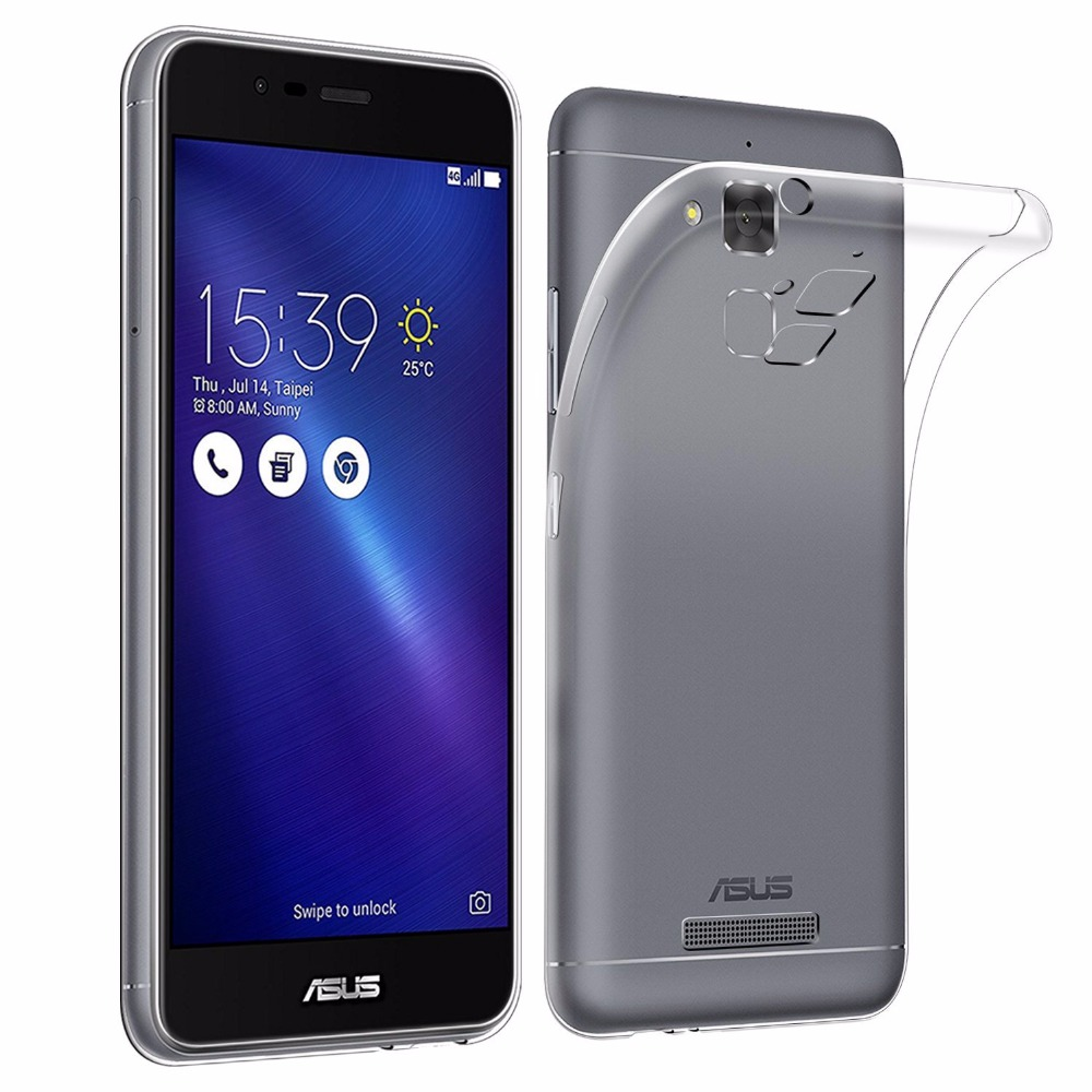Soft TPU Clear Case For Asus Zenfone 2 Laser ZE550KL 3 Max ZC520TL ZC553KL ZC550KL GO ZB551KL ZB452KG ZB500KL ZB501KL Cover