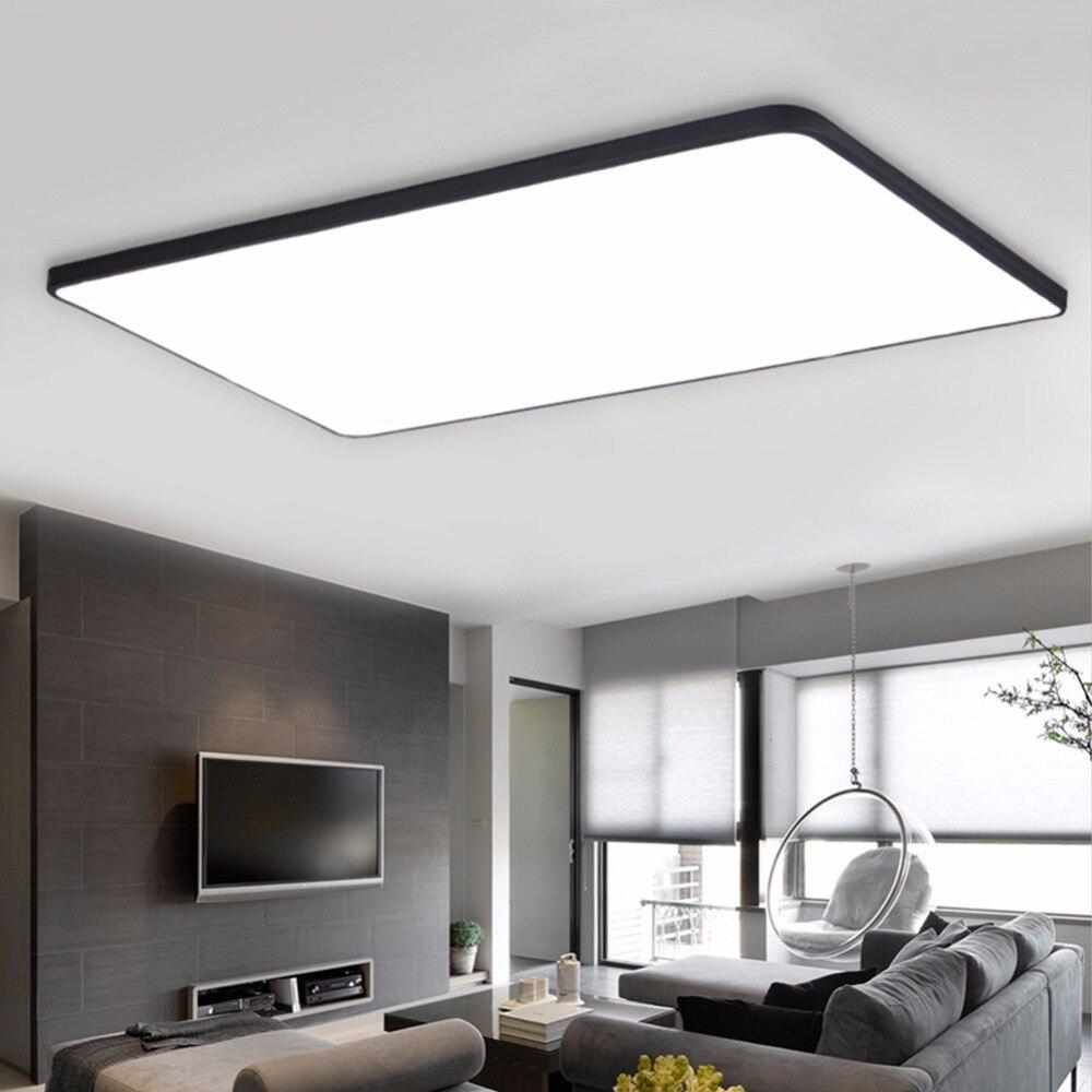 led ceiling light modern panel lamp lighting fixture living room