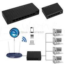 5/Eight Port RJ-45 100 Ethernet Community Desktop Swap Auto-MDI/MDIX Hub #Okay400Y# DropShip