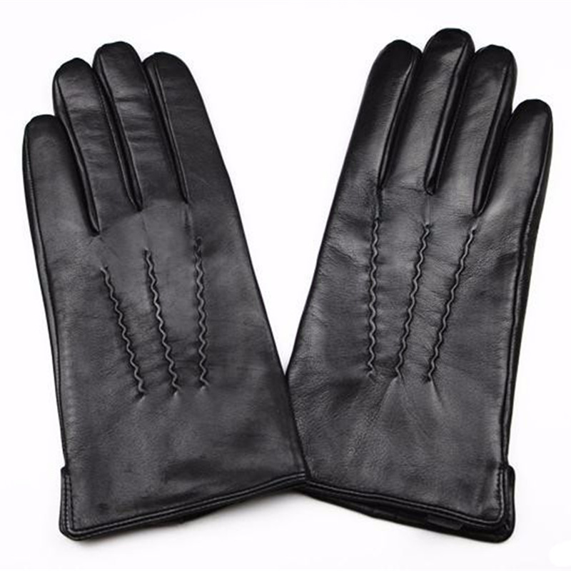 2017 New Guantes Leather Gloves