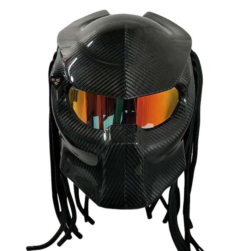 Vcoros Predator carbon fiber Motorcycle helmet Full face ...