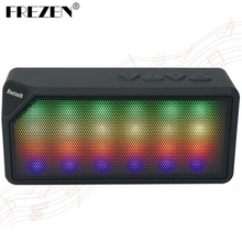 FREZEN Wireless LED Mini X3S Bluetooth Speakers TF USB FM Jambox Style Portable Music Sound Box Subwoofer Loudspeakers For phone