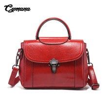 CGMANA Women Handbags 2018 Brand Handbag Fashion Diagonal Cross Shoulder Bags Simple Female Bolsa Feminina