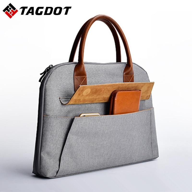 Brand stylish Office women s laptop bags 13 3 15 15 6 inch Men s Business