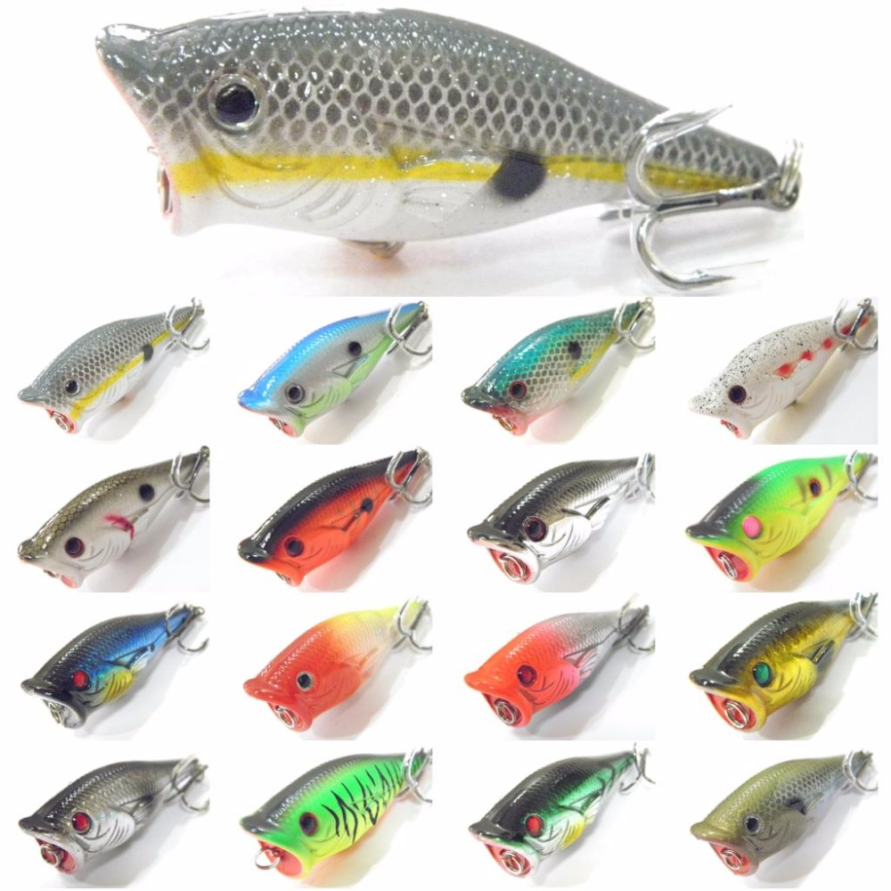 Buy wlure fishing lure topwater popper for Lures for bass fishing