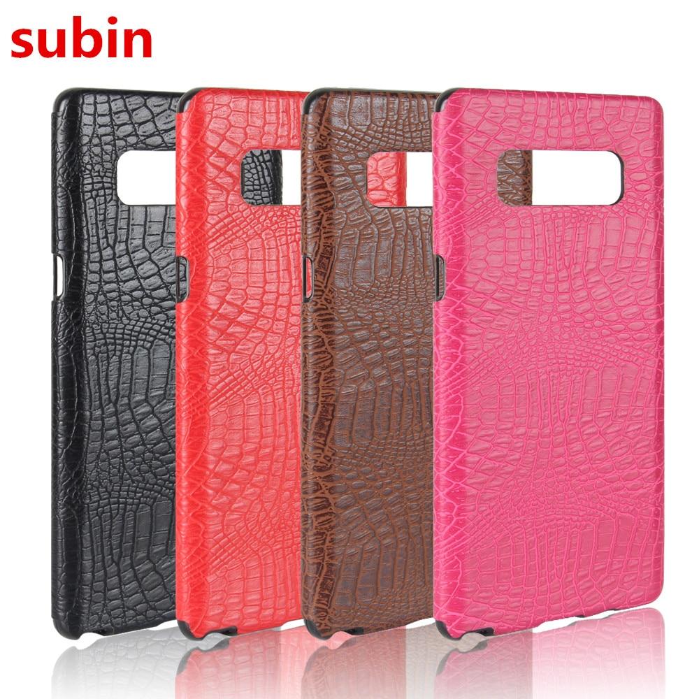 Για Samsung Galaxy Note 8 Case 5.7inch Luxury TPU Soft Crocodile - Ανταλλακτικά και αξεσουάρ κινητών τηλεφώνων - Φωτογραφία 1