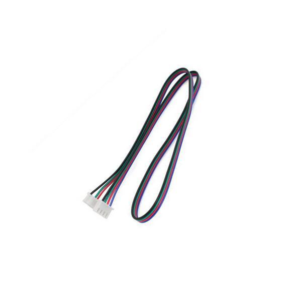 50cm dupont linha hx2.54 4pin a 6pin branco terminal do cabo do conector do motor deslizante para o motor deslizante