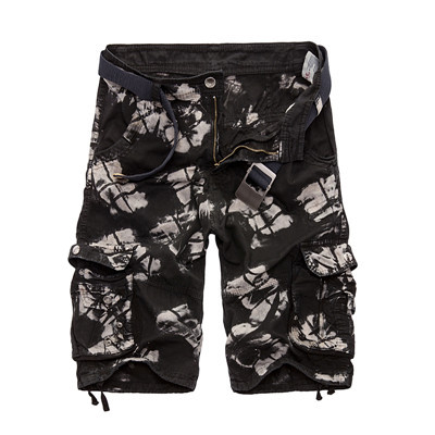 High Design Camouflage Military Shorts 4