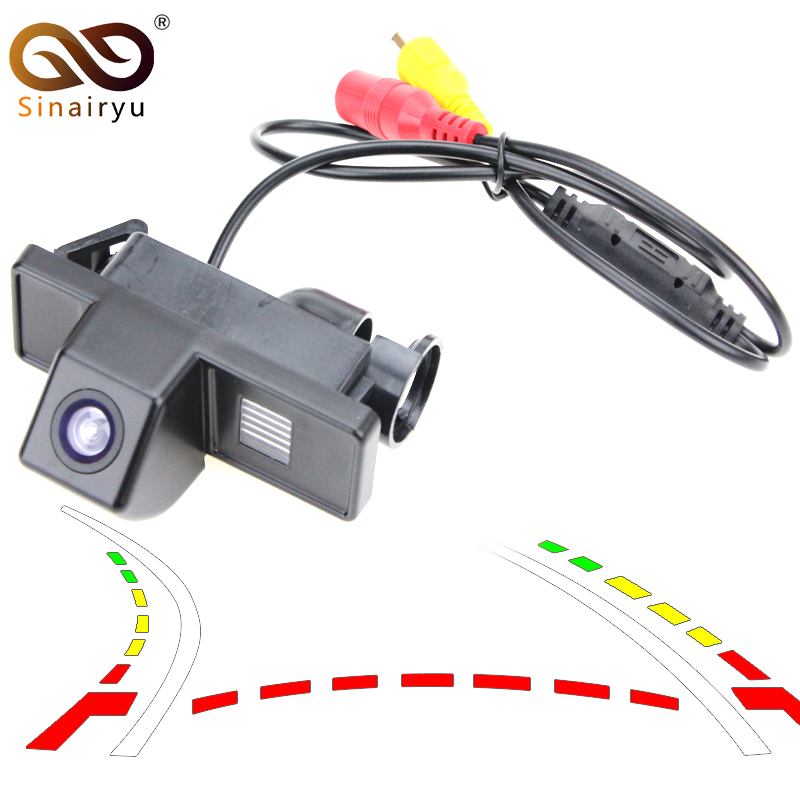 Car Dynamic Trajectory Reverse Backup Rear View Camera For Benz B Class Vito Viano Sprinter Vehicle Parking Tracks Camera dynamic trajectory tracking auto backup parking reverse camera rearview rear view reversing parking camera for ford focus 2012