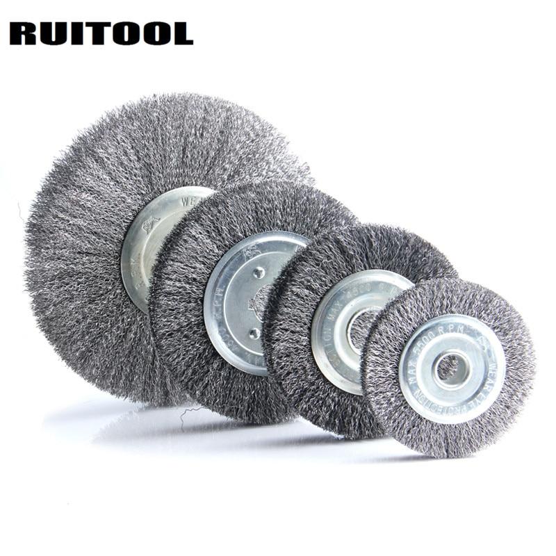 RUITOOL Steel Wire Wheel Polishing Wheels 4