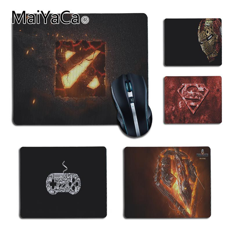 MaiYaCa Personalized Cool Fashion new dota 2 world of tank logo Silicone Pad to Mouse Game for Dota2 CS Player gaming mouse pad