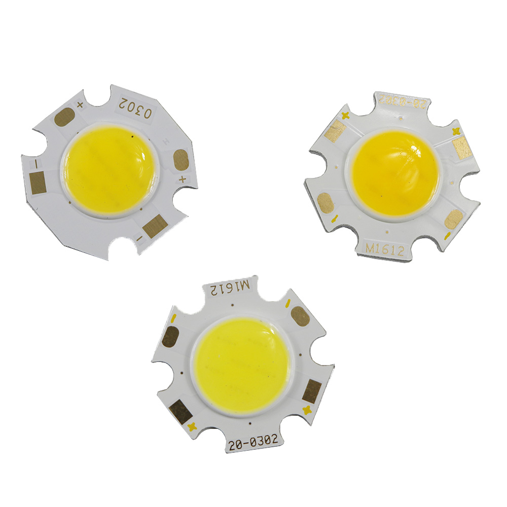 10PCS COB 12W 3W 5W 7W Led Cob Light Source Chip 300mA Side 11MM Spot Lights Chip On Board Bulb Ceiling Spotlight Lamp LIGHTING