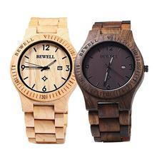Men Luxury Natural Maple Wooden Handmade Quartz Movement Casual Wrist Watch orologio donna