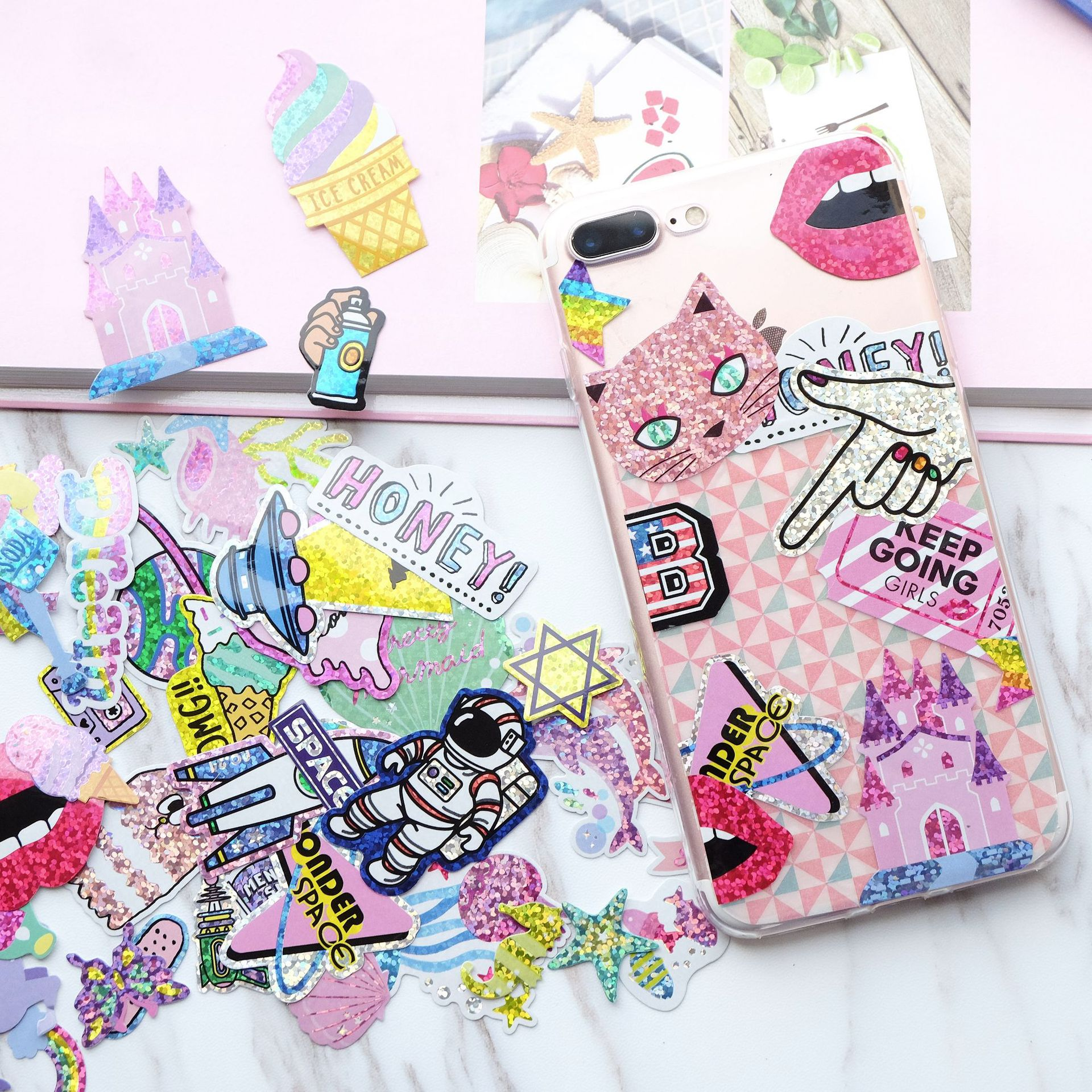 Kawaii Trendy Girl Stickers