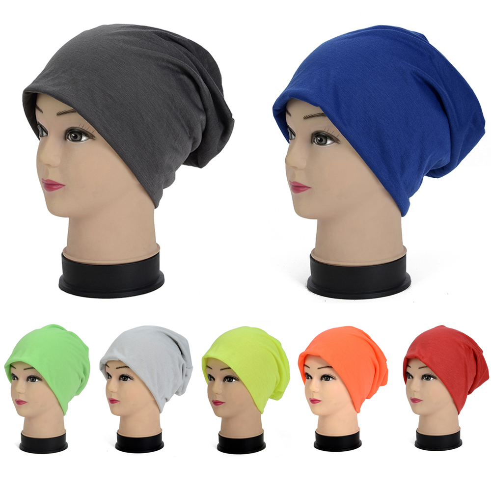 Unisex Women Men Knitted Beanie Hat Winter Warm Ski Crochet Slouch Wooly Cap HATBD0003