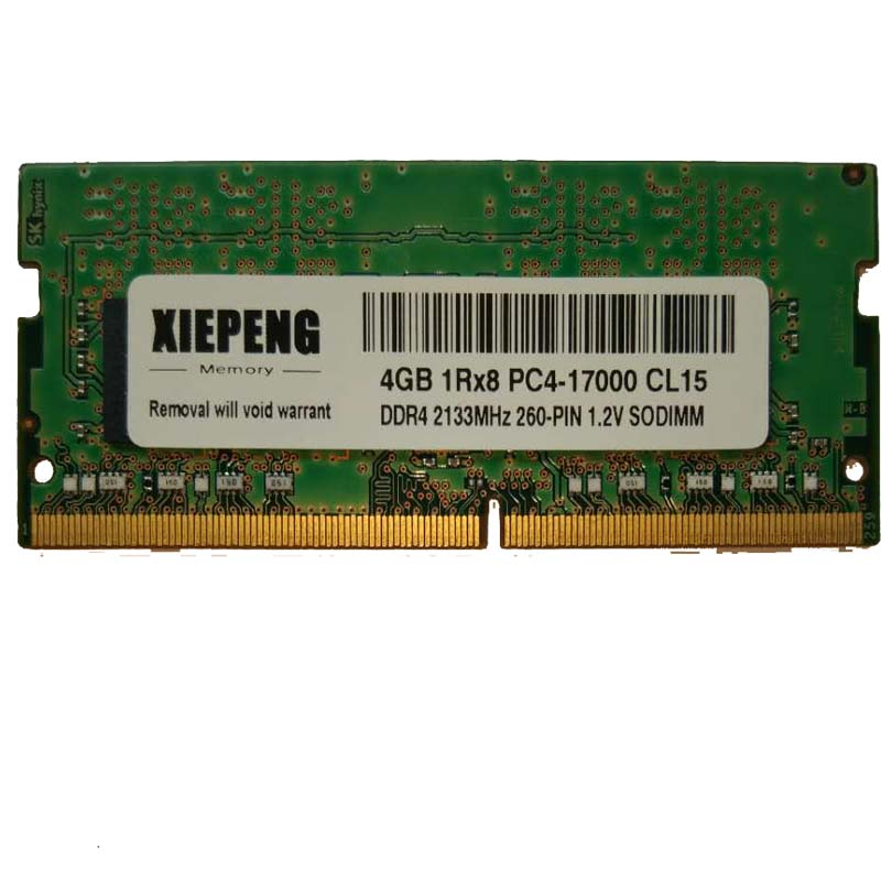4GB 1Rx8 PC4-17000S 2133MHz DDR4 4gb 2133 MHz Laptop Memory 4G pc4 17000 Notebook 260-PIN 1.2V SODIMM RAM image