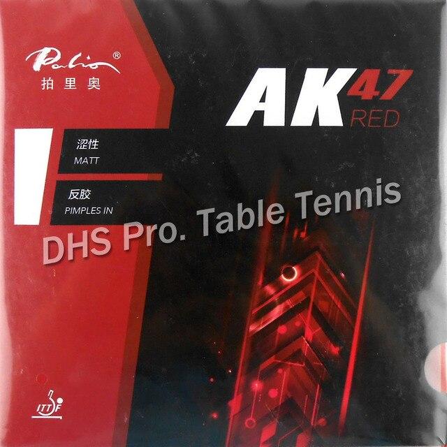 Palio AK47 AK-47 AK 47 RED Matt Pips-in Table Tennis Rubber With Sponge 2.2mm H45-47