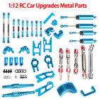 i Drone DIY Parts For 1/12 Wltoys 12428 12423 FY01/02/03/04/05 FY03 RC Car Upgrade Parts Drive Shaft FY03 Metal Set Accessories