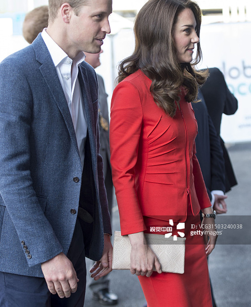 2017 New Kate Middleton princess pleated long sleeve top and solid  (top+skirt) E5519