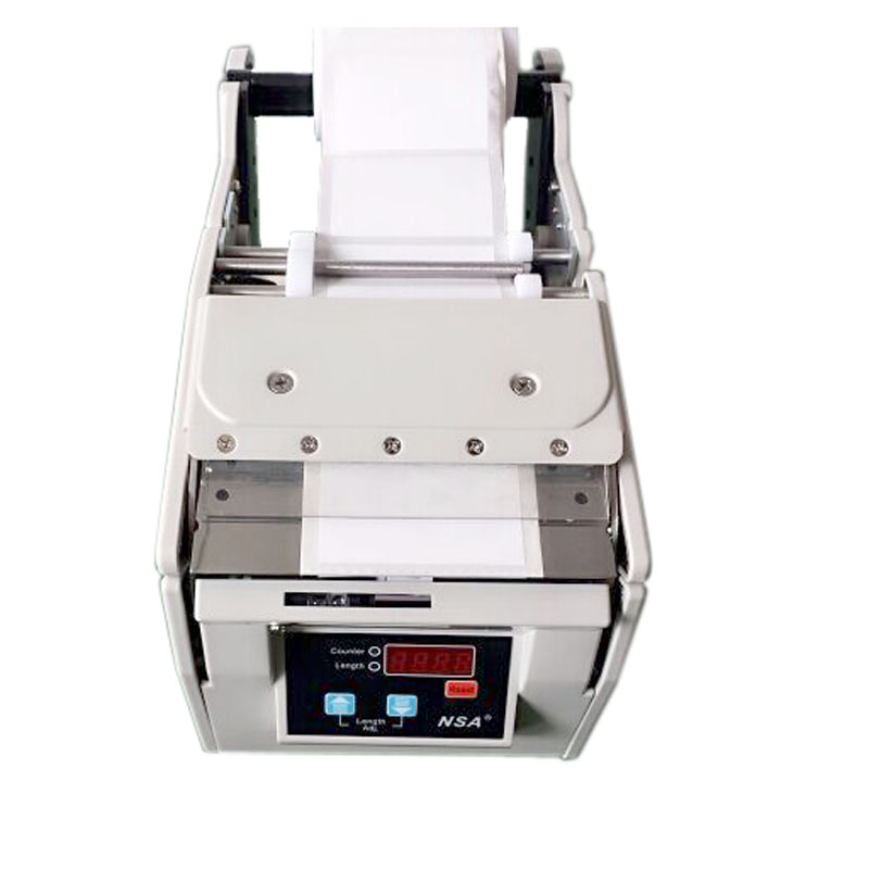 X-100 100mm High quality Automatic Label Stripping Dispenser Machine for Self-adhesive Labels/Bar Codes auto Peeling/ Separating x 100 automatic labeler dispenser label stripping machines labeler dispenser 250mm max dia