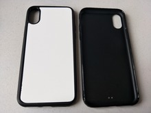 2d Rubber TPU sublimation phone case For iPhone 12 11 pro XS Max / XR / 6 7 8 plus  + blank aluminium plate 5pieces / lot
