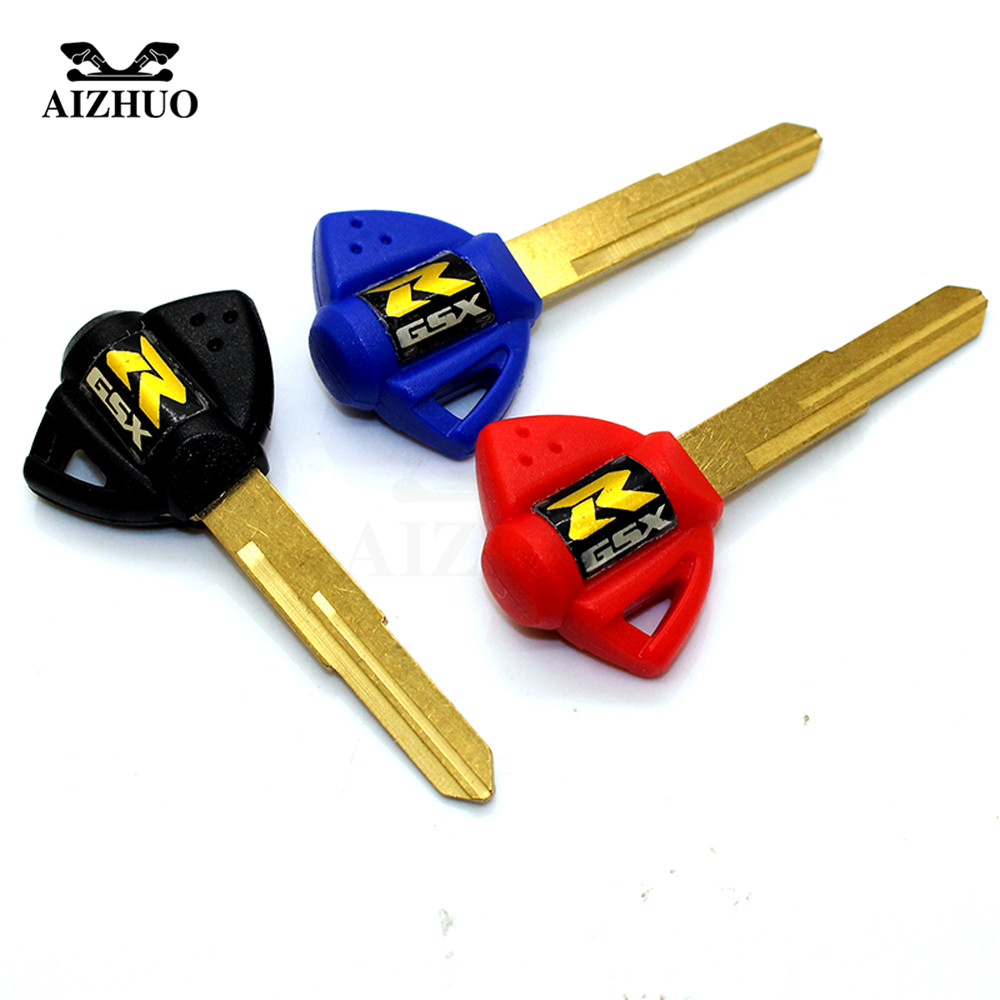 Motorcycle keys motorcycle embryo key FOR suzuki gsx-r gsxr 1000 750 600 1300 2001 2002 2003 2004 2005 K2 K3 K4 K5 K6 K7 K8 K9 аккумулятор makita 193100 4