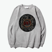 Slayer Angel Of Death Trash Metal Vintage Fashion Hoodies Sweatshirts
