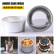 Non-stick Round DIY Cake muffin Baking Mold 4/6/8/10/12 Inch Cheesecake Pan with Removable Bottom chocolate mold