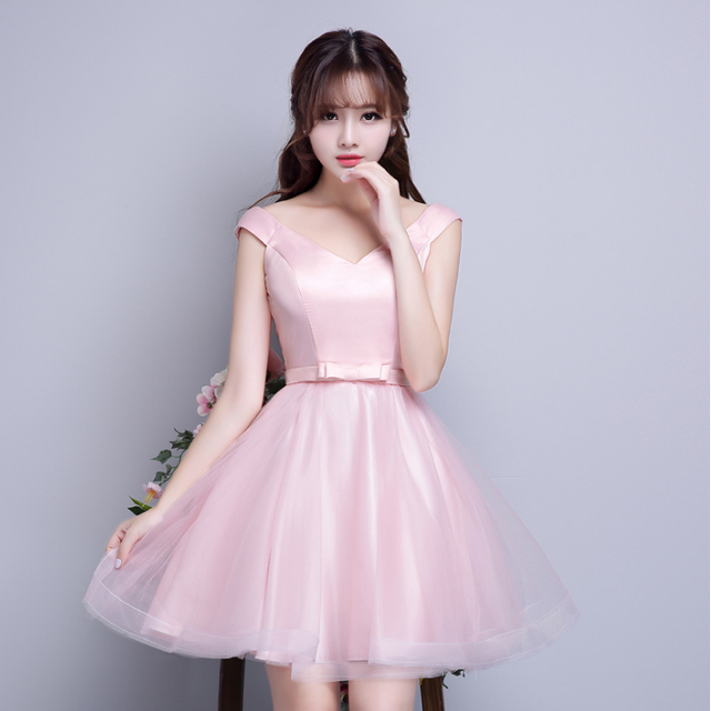 vintage inspired formal boat neck bandage short ball gowns special ...