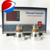 3000 w A Bassa frequenza generatore di ultrasuoni 20 khz 40 khz Ad alte prestazioni Parti di Attrezzature Per La Pulizia ad ultrasuoni generatore di vibrazioni